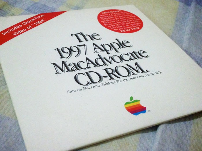 1997 Apple MacAdvocate CD-ROM