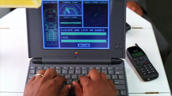 Apple PowerBook 540c in Mission Impossible (1996)